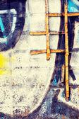 Graffity wall — Stock Photo