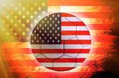 アメリカ ボール — ストック写真