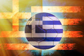 Greece ball — Stockfoto