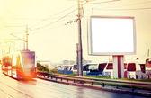 City billboard — Stock Photo