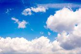 Idyllic clouds — Stock Photo