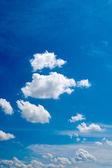 Soffici nuvole — Foto Stock