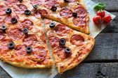 Pizza-zeit — Stockfoto