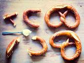 Tyska pretzels — Stockfoto