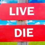 Постер, плакат: Live or die