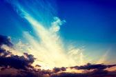 Majestuoso cielo — Foto de Stock
