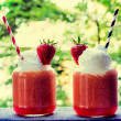 Strawberry smoothies — Stock Photo #46715549
