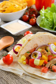 Traditional Mexican cuisine — Stock Photo