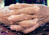 Old hands — Stock Photo