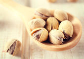 Close up to pistachios — Stock Photo