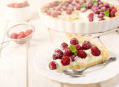 Fruit tart cake — Stock Photo