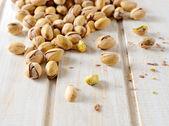 Pistachios snack — Stock Photo