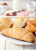 French croissants — Stock Photo