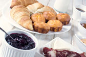 Proja pastry and croissants — Stock Photo