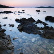 Sunset in Croatia — Stock Photo