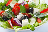 Greek salad — Foto Stock