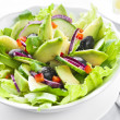 Royalty-Free Stock Photo: Salad with Avocado