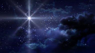 Starry Night — Stock Video