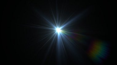 Light expose center — Stock Video
