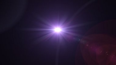 Purple Light expose — Stock Video