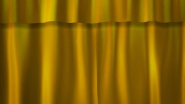Gold Curtains — Stock Video