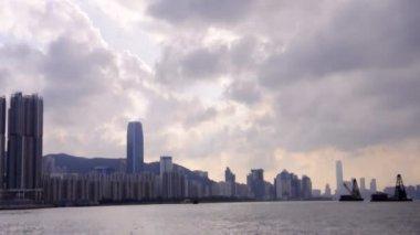 Port victoria de hong kong — Vidéo