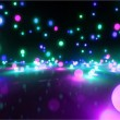 Stock Photo: Colorful light balls 2