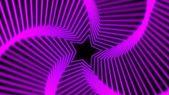 Yıldız radyasyon yumuşak mor — Stok fotoğraf