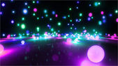 Colorful light balls 2 — Stock Photo