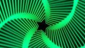 Star Radiation soft green — Stock Photo