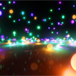 Stock Photo: Colorful light balls 1