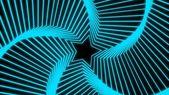 Radiazione stelle blu morbido — Foto Stock