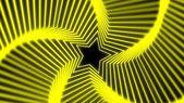 Amarillo suave radiación estrellas — Foto de Stock