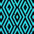 Blue music square pattern — Stockvideo