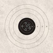 Shoot target focus — Stock Photo