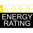 The energy rating graphical concept for presentation — Stock Video #39566863