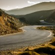 Winding road in the mountain — Stock Photo