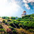 Cupola Church, top of the mountain — Stock Photo
