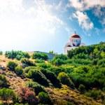 Cupola Church, top of the mountain — Stock Photo