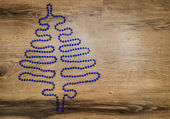 Christmas tree shape — Stock Photo