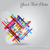 Abstract Modern Background — Stock Vector