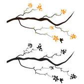 Decalque de parede de árvore — Vetorial Stock