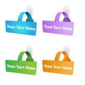 Vecteur d'étiquette tag — Vecteur