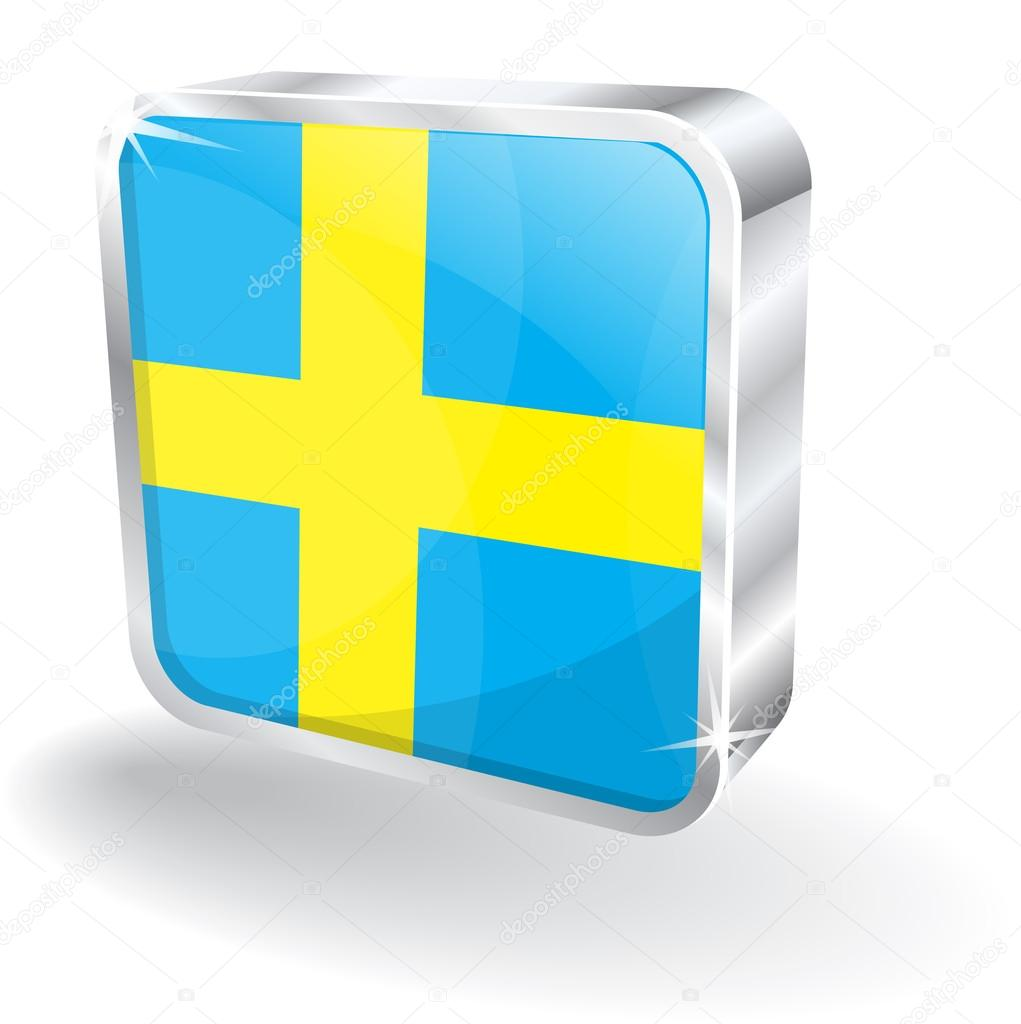 瑞典国旗矢量图标