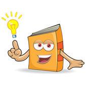 Vector Book Mascot — Stock Vector
