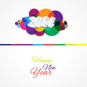 2014 Happy New Year — Stock Vector
