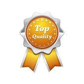 Najwyższej jakości srebra platyny żółta pieczęć — Wektor stockowy