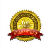 Golden Top Quality Vector Seal Icon — Stock Vector