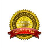 Golden Premium Quality Vector Seal Icon — Stockvector