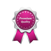 Premium Quality Pink Seal Vector Icon — Stock Vector